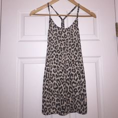 Light Cheetah Print Tank Top This tank is in perfect condition. Hardly worn! Size Medium. Tops Tank Tops