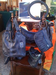 Ressac Rubber Products, Cool Bicycles, 2013, Arts, Bag Making, Upcycle, Recycling, Designers, Handbags