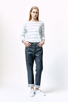 Rova Top, Jeans and Leather Sneakers   Samuji SS16 Classic Collection