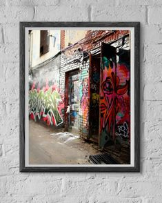 Come in keep out  8x12 Fine-Art print by VeniEtiamPhotography