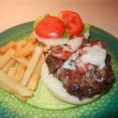 Meat Lover's Burger Pork Neck Bones Recipe, Gyro Meat, Healthy Wraps, Ground Lamb, Sliced Tomato, Distilled White Vinegar, Green Tomatoes, Meat Lovers, Tzatziki