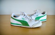 Vintage Puma Sneakers 8.5 Pumas Puma Shoes by JusticeAndFreedom