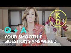 This video is all about healthy smoothies. Registered Holistic Nutritionist, Kim D'Eon, answers questions about: - smoothie superfoods - what to do about fus. Holistic Nutritionist, Healthy Smoothies, Superfoods, Wellness, This Or That Questions, Eat, Videos, Youtube, Recipes