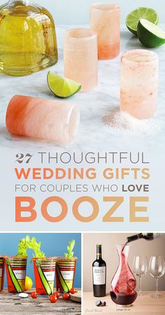 27 Thoughtful Wedding Gifts For Couples Who Love Booze