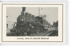Conesus 107   LA&L Railroad The Livonia, Avon, and Lakeville Railroad is still in operation