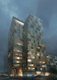 Znalezione obrazy dla zapytania residential tower
