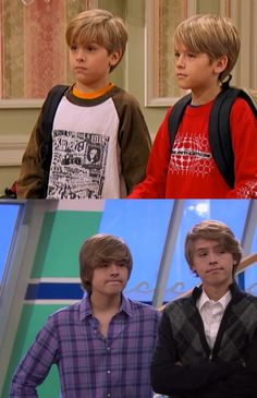 cole and dylan sprouse then and now - Google Search
