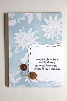 Card by Heather Nichols for PTI. This is a variation on another one she made.