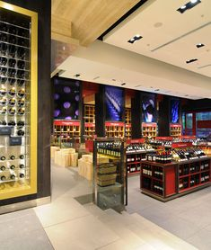 El Mundo del Vino wine store by Droguett A, Santiago – Chile » Retail Design Blog