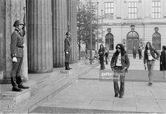 Mick Box of Uriah Heep on a German tour East Berlin September 1971 West Berlin, Berlin Wall, Berlin Hauptstadt, Old Rock, Uriah, East Germany, Good Old, Rock Music, Photos
