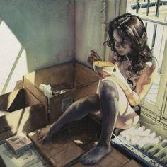 Amazing Watercolor IX by Marcos Beccari