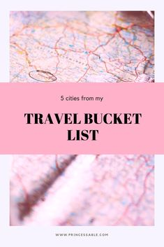 This is my travel bucket list: . I Believe In Love, I Fall In Love, Going To California, Post Check, Lots Of Money, What To Read, My Favorite Music, How To Start A Blog, Bucket