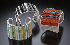 Multi-Color ROW cuffs, Tana Acton