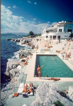 St. Tropez, France. Hotel de  Cap in Cap d'Antibes, on the Cote d'Azur
