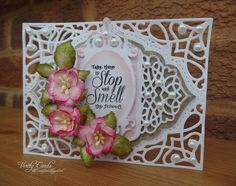 Verity Cards: Stop and smell the flowers