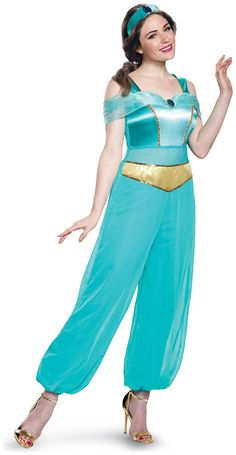 Festive Mood On With Disney Princess Jasmine Deluxe Adult Costume. Ultimate  Collection Of Princess Jasmine