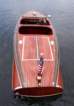 1940 Chris Craft Custom Runabout Barrel Back Classic Wooden Boats, Classic Boat, Chris Craft Wooden Boats, Wooden Speed Boats, Runabout Boat, Wooden Boat Plans, Vintage Boats, Float Your Boat, Cool Boats