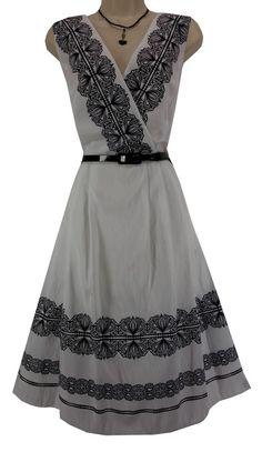 20W 2X NWT SEXY Womens WHITE TAFETTA DRESS w/Shiny Belt Summer Wedding PLUS SIZE #dressbarn #FitFlareDresswithBelt #Versatile