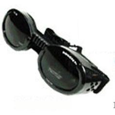 39e0cb9baf Doggles ILS Extra Small Metallic Black Frame and Smoke Lens