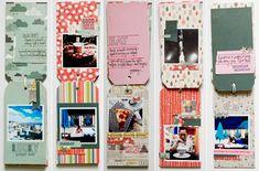 Kelly Purkey: Making a travel tag mini album