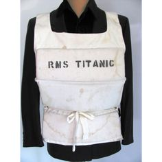R.M.S. Titanic Lifejacket Theatrical Halloween Display Costume Film Prop found…