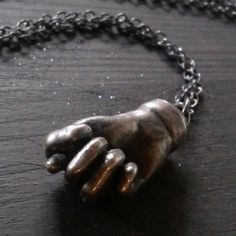Mano Fico hand amulet. Evil Eye Charm. The Fortuna Necklace