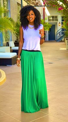 "A ""Must Have"" for Summer: The Maxi Skirt"