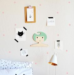 Extra Tiny Stars Decals - WALL DECAL – The Lovely Wall Company