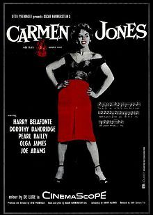 Carmen Jones Starring: Dorothy Dandridge, Harry Belafonte, Pearl Bailey and Diahann Carroll Harry Belafonte, Dorothy Dandridge, Old Movies, Vintage Movies, Great Movies, Vintage Posters, Good Girl, Russ Mayer, Pearl Bailey