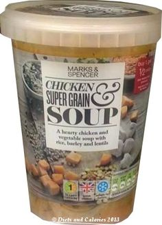 Chicken & Supergrain Soup from Marks & Spencer