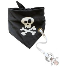 Electrik Kidz Bandana Bibs-Pirate for the little mischievous ones in your home;) let their inner spirit play in their style as well! The next big thing is here! Bandana Bibs/Binky Holders! Get yours today at www.shopsugarbabies.com