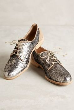 Hoss Intropia Spangled Oxfords Silver