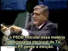 PT perde a eleição se o PSDB/PSB veicular isso na TV. Um leitor enviou ao blog o vídeo acima que revela os candentes debates ocorridos na última semana no Senado da República. Enfoca trechos dos discursos dos senadores Jarbas Vasconcelos, do PMDB de Pernambuco e Mário Couto, do PSDB do Pará. Suas intervenções detonam Renan Calheiros, Lula, Dilma, Zé Dirceu e toda a entourage petista que promoveu a operação-abafa no Senado para impedir que a roubalheira na Petrobras seja investigada.