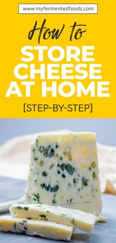 Cheese is stored differently depending on its type, texture, and temperature tolerance. What they all have in common is the need to be properly stored so they can be fresh for a longer period of time. You also don't want your cheese spoiled, right? Let's start off by covering a few basics. . . . #MyFermentedFoods #FermentedFoods #CheeseRecipe #Cheese #StoringCheese #HardCheese #SoftCheese #WrappingCheese Kefir How To Make, Kombucha How To Make, How To Make Cheese, How To Eat Paleo, How To Stay Healthy, Probiotic Foods, Fermented Foods, No Dairy Recipes, Whole Food Recipes