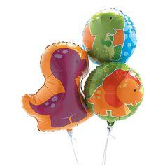 Baby Dino Balloons $7.50