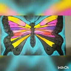My 4th grader's symmetry insects have been all the rage this week! Here's a peak at the process... (students used regular pencil for this, I used a white pencil just for the video). #carbonpaper #chalk #sargentartchalk #blackglue #symmetry #insects #4thgrade #art #artclass #elementaryart #artteachers #artteachersofinstagram #marshallelementaryart