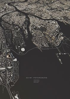 Saint Petersburg City Map Art Print By Maptastix Lowpoly - This Numbered Edition Giclee Art Print Designed By Maptastix Comes With A Numbered And Signed Certificate Of Authenticity Printed On Cotton Acid Free Heavyweight Paper Using Hdr Ultrachrome A City Layout, Art Carte, Poster Online, City Maps, Map Design, Grafik Design, Architecture Panel, Architecture Tools, Famous Architecture
