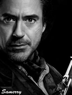 Portrait of Robert Downey Jr by Samerry on Stars Portraits, the biggest online gallery for celebrity portraits. Sherlock Holmes Robert Downey, Robert Downey Jr., Holmes Movie, Jr Art, I Robert, Super Secret, Iron Man Tony Stark, Downy, Downey Junior