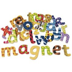 Buy Magnetic Wooden Letters from Mulberry Bush, an online toyshop for traditional and wooden children's toys, gifts and games delivered throughout the UK