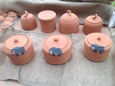 Bisque fired - ready for glazing. Fire Ready, Handmade Pottery, Glaze, Candle Holders, African, Candles, Enamel, Candlesticks, Handmade Ceramic