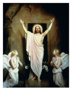 The Resurrection, by Carl Bloch