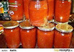 Kadlíkův kečup recept - TopRecepty.cz