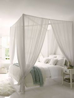 Image Result For White Poster Bed