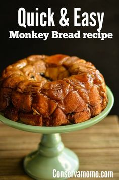 This quick & Heavenly #MonkeyBread is so delicious and easy to make and will be the perfect treat for a morning delight or delightful brunch. This easy to make Monkey Bread recipe will be a hit! #easybreakfastidea #Brunchrecipe #breakfastidea Rock Crock Recipes, Quick Bread Recipes, Best Dessert Recipes, Brunch Recipes, Fun Desserts, Breakfast Recipes, Cooking Recipes, Amazing Recipes, Dessert Ideas