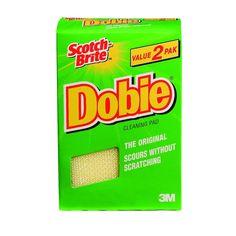 Because Cheaper is Better: Free sample of Scotch Brite Dobie!