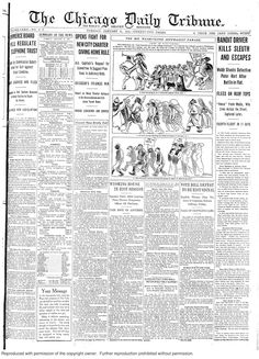 Jan. 21, 1913: Chicago auto show expected to eclipse New York auto show this year. And those auto bandits are still wreaking havoc on the city - this time one shot and killed a detective with the detective's own revolver.