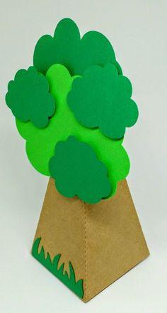 Caixa árvore - (vazia)