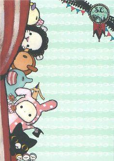 kawaii Memo Pad Sentimental Circus rabbit du Japon3