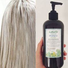 Brightens gray, silver and white hair. Shiny, softer and more manageable beautiful hair. Loose the yellow and restore your radiance to reveal luminous fresh healthy strands. Shampoo For Gray Hair, Hair Shampoo, Silver Grey Hair, White Hair, Curly Hair Styles, Natural Hair Styles, Drop Dead Gorgeous, Fuller Hair, Great Hair