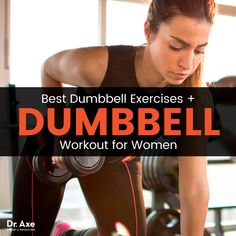 Dumbbell workouts are beneficial for developing raw power and strength, plus creating balance between the right and left sides of the body. Dumbbell workouts are beneficial for developing raw power Best Dumbbell Exercises, Dumbbell Workout, Workout Exercises, Boxing Workout, Burpees, Workout For Flat Stomach, Weight Loss Diet Plan, Weight Lifting, Squats